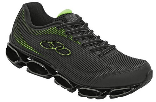 tênis para andar muito sem cansar os pés